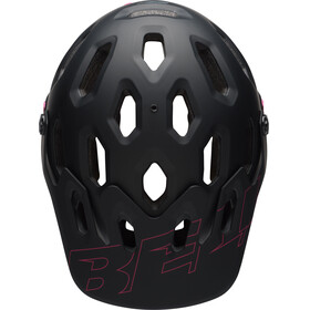 Bell Super 3R MIPS MTB Helmet matte black/cherry